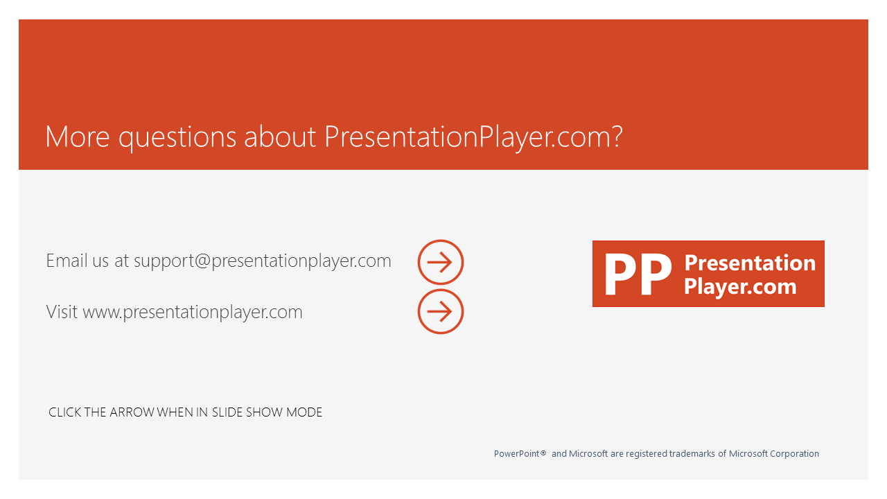 PowerPoint Presentation  Player