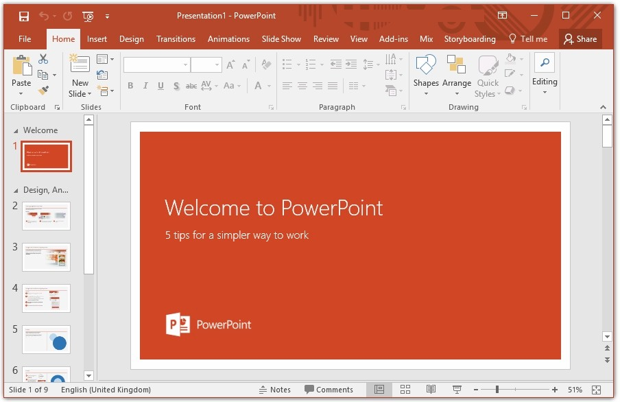 Setting up your microsoft powerpoint presentations for for Setting up a powerpoint template